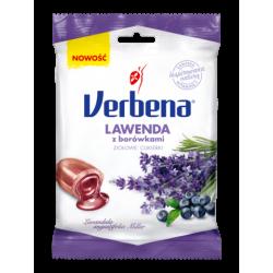 Verbena Nadziewane ziołowe cukierki z borówkami lawendą i witaminą C 60g