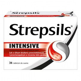 Strepsils Intensive 8,75mg 36 tabletek