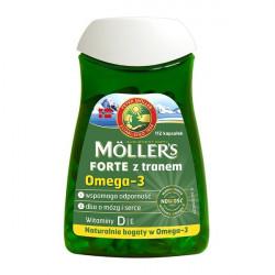 Mollers Forte z tranem 112 kapsułek