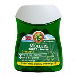 Mollers Forte z tranem 60 kapsułek