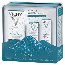 Vichy Zestaw Świąteczny Slow Age Fluid 50ml + Slow Age Fluid 3ml + Mineral 89 10ml