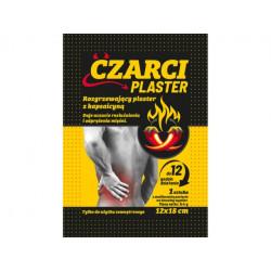 CZARCI PLASTER Rozgrzewający z kapsaicyną 12x18cm 1sztuka
