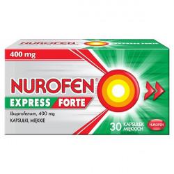 Nurofen Express Forte 400mg 30 kapsułek