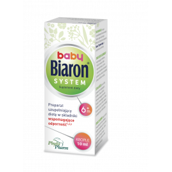 Bioaron System Baby 6m+ Krople 10ml Phytopharm