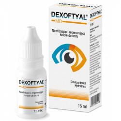 Dexoftyal MD Nawilżające i regenerujące krople do oczu 15ml