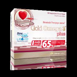 Olimp Gold Omega 3 Plus 60 kapsułek