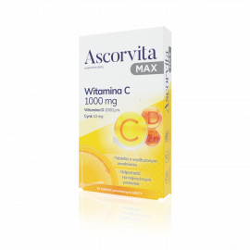 Ascorvita Max 30 tabletek