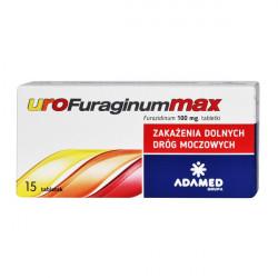 Urofuraginum Max 100mg 15 tabletek