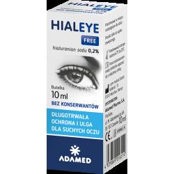 Hialeye Free 0,2% Krople do oczu 10ml