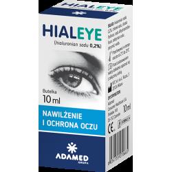 Hialeye 0,2% Krople do oczu 10ml