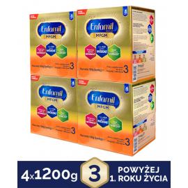Enfamil Premium MFGM 3 Mleko modyfikowane 4x1200g