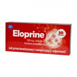 Eloprine 500mg 30 tabletek