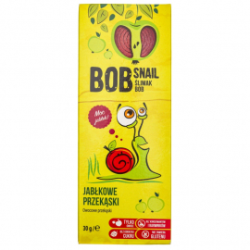 Bob Snail Przekąska jabłkowa 30g, Data ważności: 30.07.2021 r.