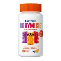 Bodymax Bodymisie Żelki o smaku owocowym 60 sztuk