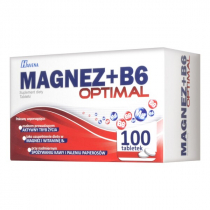 Magnez + B6 Optimal 100 tabletek