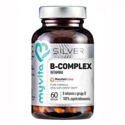 MyVita Silver Witamina B-Complex 100% 60 kapsułek