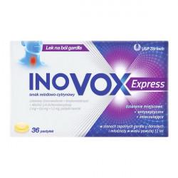 Inovox Express miodowo-cytrynowy 36 pastylek