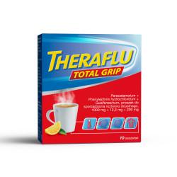 Theraflu Total Grip (1000mg + 12,2mg + 200mg) 10 saszetek