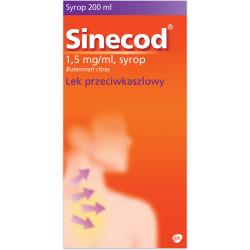 Sinecod 1,5mg/ml syrop 200 ml