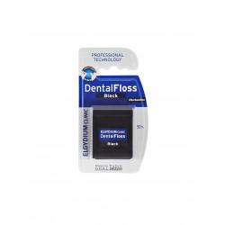 ELGYDIUM CLINIC Czarna nić dentystyczna z chlorheksydyną 50m P-F