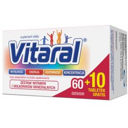 Vitaral 70 tabletek (60 + 10)