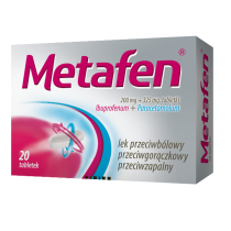 Metafen (200 mg + 325 mg) x 20 tabletek