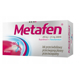 Metafen 200mg +325mg 50 tabletek