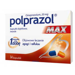 Polprazol Max 20mg 14 kapsułek