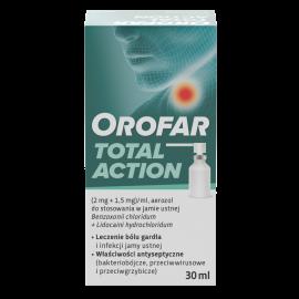 Orofar Total Action 2mg+1,5mg/ml 30ml