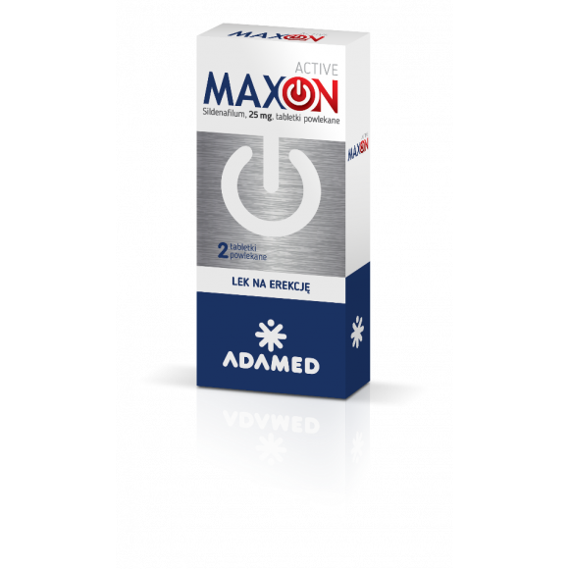 1 Maxon Active 0 025 G 2 Tabletki Lek Na Potencje Cena Opinie