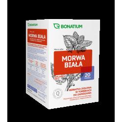 Bonatium Morwa biała Herbatka ziołowa 20 saszetek