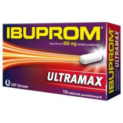 Ibuprom Ultramax 600mg 10 tabletek