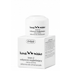 Ziaja Kozie Mleko Krem 2 odżywczo-wygładzający cera sucha skłonna do zmarszczek 50ml