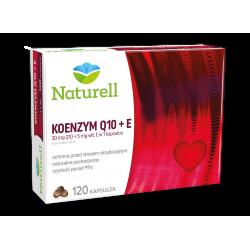 Naturell Koenzym Q10+E 120 kapsułek