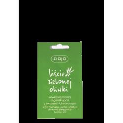 Ziaja Liście Zielonej Oliwki Oliwkowa Maska regenerująca z kwasem hialuronowym 7ml