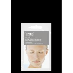 Ziaja Maska oczyszczająca z glinką szarą 7ml