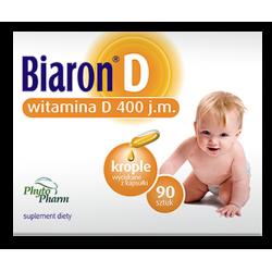 Biaron D 400 j.m. 90 kapsułek Phytopharm