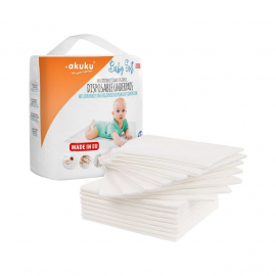 Akuku Podkład jednorazowy Baby Soft A0500 15 sztuk