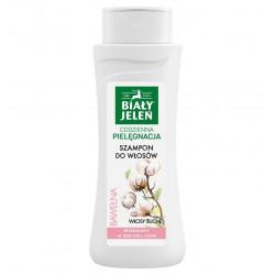 Biały Jeleń Hipoalergiczny szampon do włosów z czystą bawełną 300ml