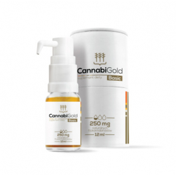 CannabiGold Basic 250 mg olej 12ml