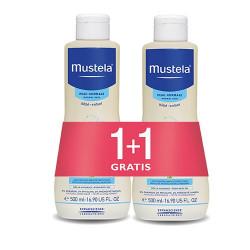 Mustela Zestaw Bebe Enfant delikatny szampon dla dzieci od 1 dnia życia 2x500ml