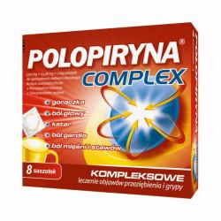 Polopiryna Complex (500mg+15,58mg+2mg) 8 saszetek