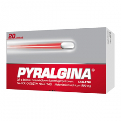 Pyralgina 500mg 20 tabletek