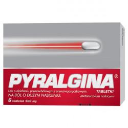 Pyralgina 500mg 6 tabletek