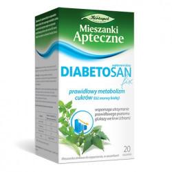 Mieszanki Apteczne Diabetosan 20 saszetek, Data ważności: 30.04.2021 r.