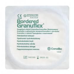 Bordered Granuflex Opatrunek hydrokoloidowy 4 sztuki, Data ważności: 30.04.2021 r.
