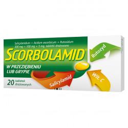 Scorbolamid 300mg + 5mg + 100mg 20 tabletek