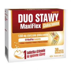 Duo Stawy MaxiFlex 30 tabletek o smaku pomarańczowym