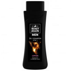 Biały Jeleń Men żel & szampon z łopianem 300ml
