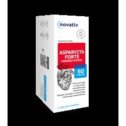 Novativ Asparvita Forte Magnez + Potas 50 tabletek